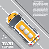 Serviço do táxi Foto de Stock Royalty Free