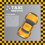 Serviço do táxi Fotografia de Stock