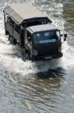 Serviço militar do caminhão Fotos de Stock Royalty Free
