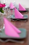 Serviço moderno da cor-de-rosa e do verde imagem de stock royalty free