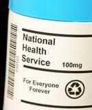 Serviço nacional de saúde NHS Fotografia de Stock