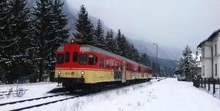 Serviço rural das estradas de ferro eslovenas Fotos de Stock