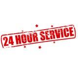 Serviço vinte de quatro horas Imagem de Stock