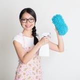 Serviços da limpeza Imagens de Stock Royalty Free