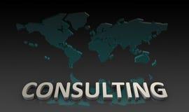 Serviços de consultadoria Imagem de Stock