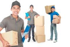 Serviços de entrega profissionais Fotografia de Stock