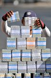 Serviços de troca do dinheiro Foto de Stock Royalty Free