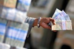 Serviços de troca do dinheiro Imagens de Stock Royalty Free