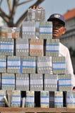 Serviços de troca do dinheiro Fotos de Stock
