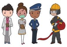 Serviços de urgências Fotografia de Stock Royalty Free