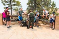 Serviços de urgências em Bryce Canyon National Park Foto de Stock