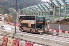 Serviços do transporte em Hong Kong Imagem de Stock Royalty Free