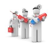 Serviços médicos Foto de Stock