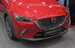 Servië; Belgrado; 24 maart, 2018; Mazda CX-3 voorzijde; 54ste Int. Stock Afbeeldingen