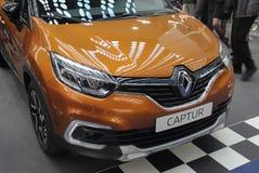 Servië; Belgrado; 24 maart, 2018; Renault Captur-voorzijde; de vierenvijftigste Stock Afbeeldingen