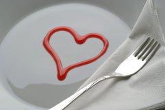 Servi avec amour Images libres de droits
