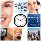 Service à la clientèle Image stock
