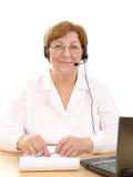 Service à la clientèle médical Image libre de droits