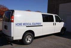 Service à la maison de matériel médical photos stock