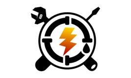 Service à la maison dodu et électricité Illustration Libre de Droits