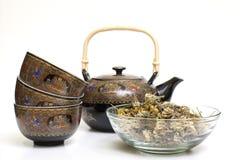 Service à thé Images stock