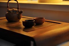 Service à thé Image libre de droits