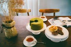 Service à thé d'après-midi Image stock