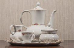 Service à thé en céramique Photos libres de droits