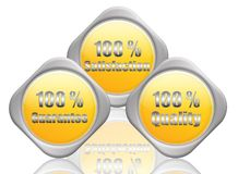 service %100 illustration stock