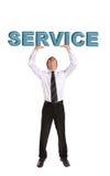 service royaltyfria bilder