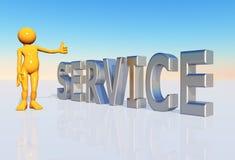 Service Illustration Stock