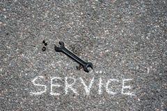 service Stock Foto