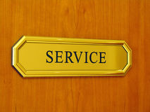 Service Royalty Free Stock Photo