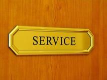 service Royaltyfri Foto