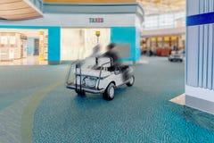 Service aérien moderne dans l'aéroport pour les passagers et le bagage, Co Images stock
