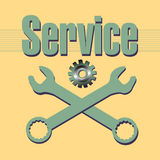Service Royalty Free Stock Photos