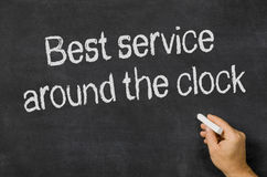 Service around the clock Stock Images