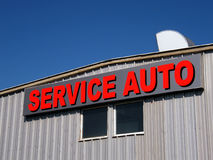 Service auto Royalty Free Stock Image