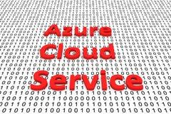 Service azuré de nuage Photographie stock libre de droits