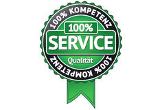 Service Badge Royalty Free Stock Image