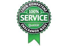 Service Badge Royalty Free Stock Image