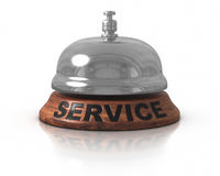 Service Bell. 3d rendered image : Service Bell Royalty Free Stock Photos