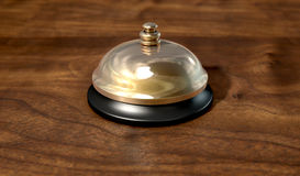 Service Bell Brass Royalty Free Stock Image