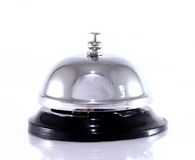 Service bell isolated on white Royalty Free Stock Images