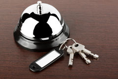 Service bell with keys Stock Photo