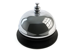 Service bell ring. On a white background Royalty Free Stock Photography