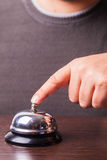 Service bell ring Royalty Free Stock Photo