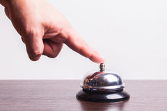 Service bell ring Stock Photo