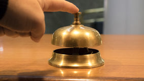 Service Bell. Bell to call hotels at the receptionist Stock Images