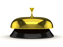 Service bell  on white Royalty Free Stock Image
